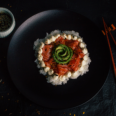 salad-salmon-chica