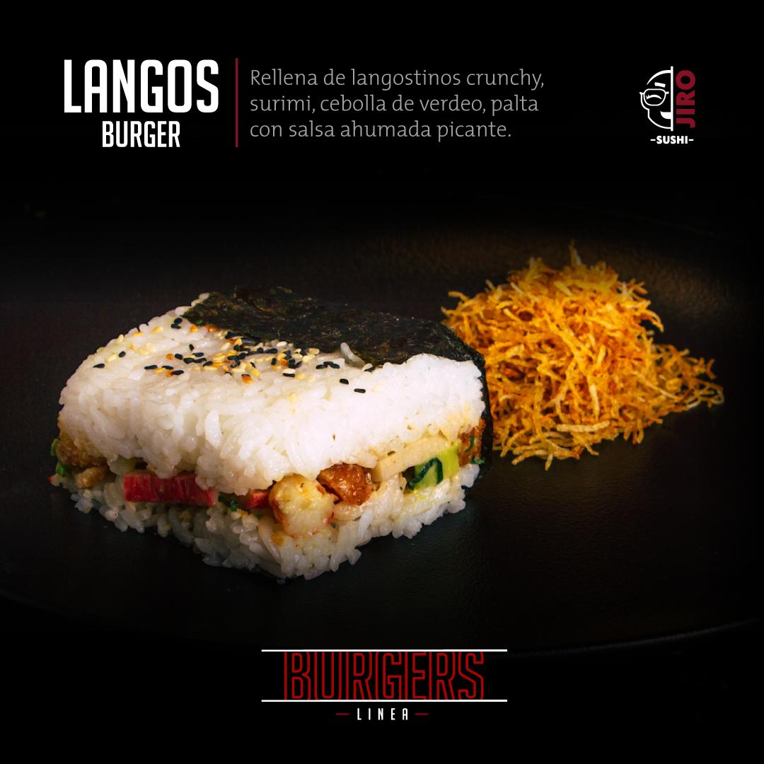 Langos-burger